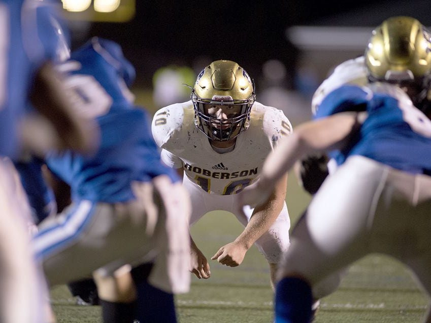Roberson's Seth Griswold is Western North Carolina's tackling leader.