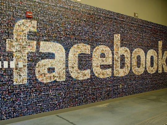 Wall inside Facebook data center in Forest City.