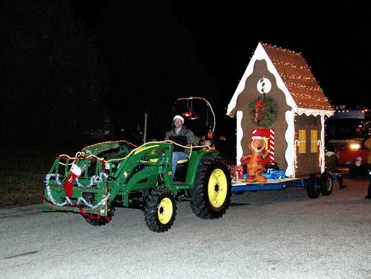 The Polonia Christmas Parade was held Dec. 11.