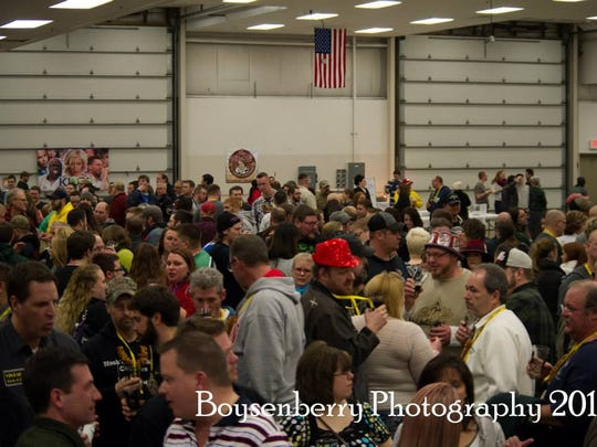 The Fond du Lac Brew Fest attracts more than 1,600 visitors each year.