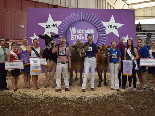 The Supreme Champion Bred and Owned was the Champion
