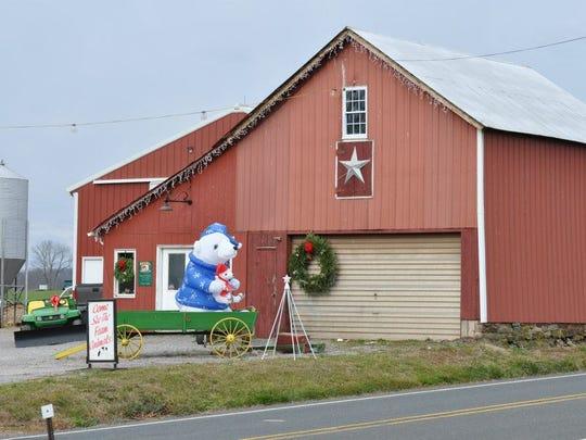 Everitt Farms is ready for the holiday season.