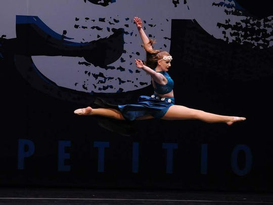 Dance 4 Life Academy Team Captain Alyssa Anderson of