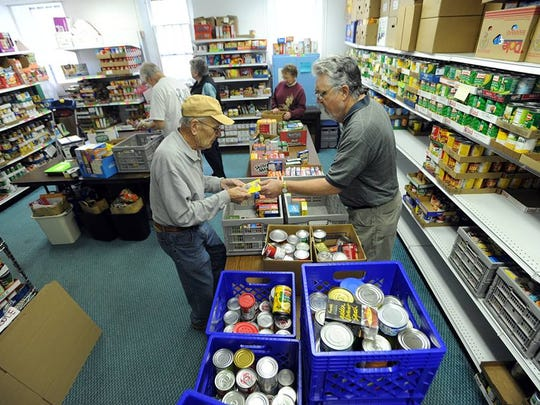For years the Fondy Food Pantry has operated out of