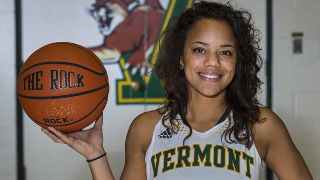 University of Vermont's women's basketball player Kylie Atwood.