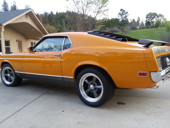 This vintage muscle car was stored inside for 21 years,