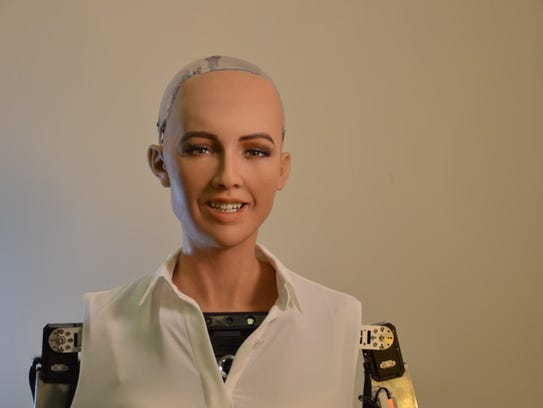 Sophia, a lifelike robot from Hanson Robotics