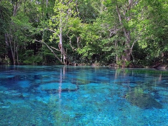 Northwest Fla. offers cool and clear sapphire waters