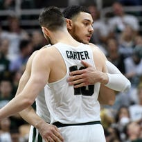 Michigan State clinches share of Big Ten with 81-61 win over Illinois on senior night