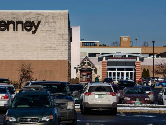 The University Mall in South Burlington on Monday, January 25, 2016.