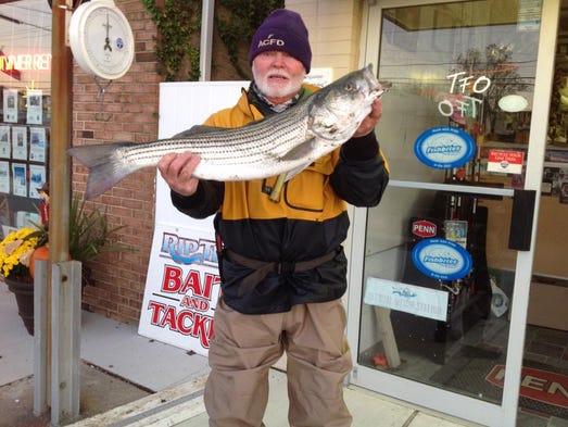 Delaware regional fishing report for Brigantine fishing report