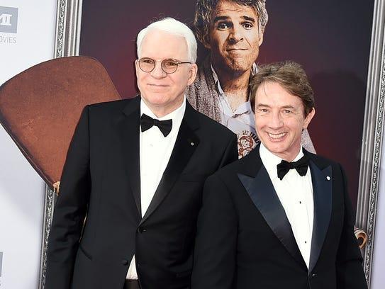 Steve Martin (left) and Martin Short will perform at