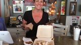 The Pecking Order's Bridgit Stone-Budd welcomed Vice President Mike Pence to Sanibel in April 2017 with an invite for fried chicken, waffles and fried pickles on the house.