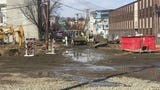 A broken gas main at a construction site set off a square-block evacuation in downtown Dover. William Westhoven/Dailyrecord.com