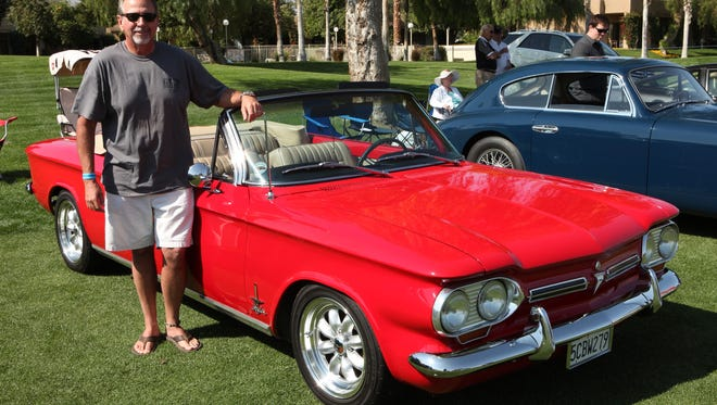 Patrick Croan of Temecula, Calif., owns this 1962 Chevrolet Corvair. We caught up to him last year  at the Desert Classic Concours d'Elegance.