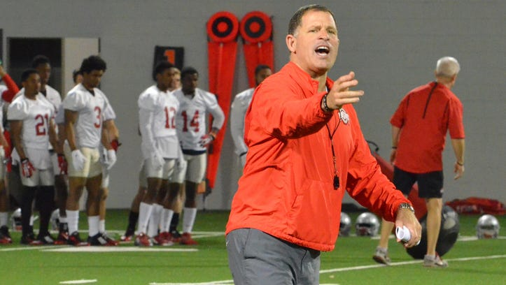 Ohio State assistant Greg Schiano hit cyclist with car on campus