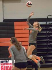 Talyn Jackson, a senior at Douglas, will play volleyball