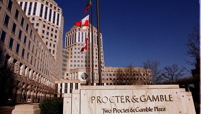 While P&G's plans to sell off pet food and confirmation of a new razor unveiling have fanned investor hopes, the latest financial results show the company has more work to do. Enquirer file Last month, Greenpeace activists staged a protest at Procter & Gambleâ??s headquarters Downtown, objecting to the company buying palm oil from Indonesian suppliers linked to clearing rainforests to harvest the crop. Enquirer file Text: 2000.0307.13.PROCTER & GAMBLE- The front of the P & G tower looking east from Sycamore st near 5th st.C-E phto by Ernest Coleman for bus