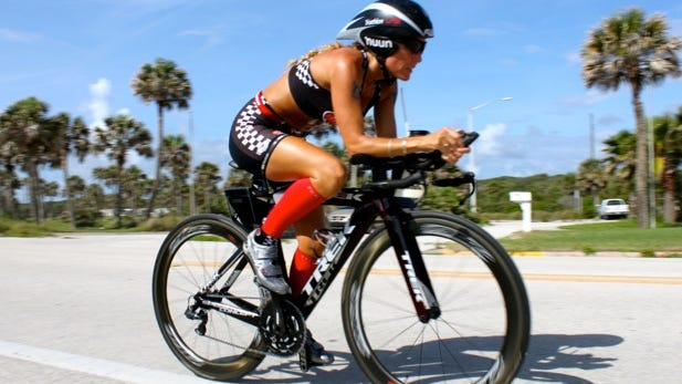 Lisa Buohler suffered devastating injuries after being hit by an SUV while jogging in 2011. She overcame those injuries and a recent injury she suffered while biking in Switzerland.