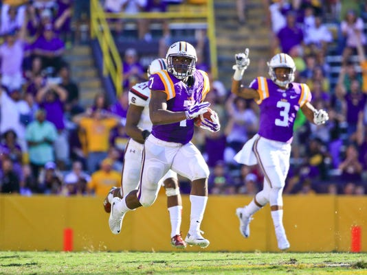 NCAA Football: Louisiana State at South Carolina