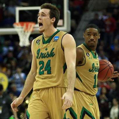 Mar 26, 2015; Cleveland, OH, USA; Notre Dame Fighting