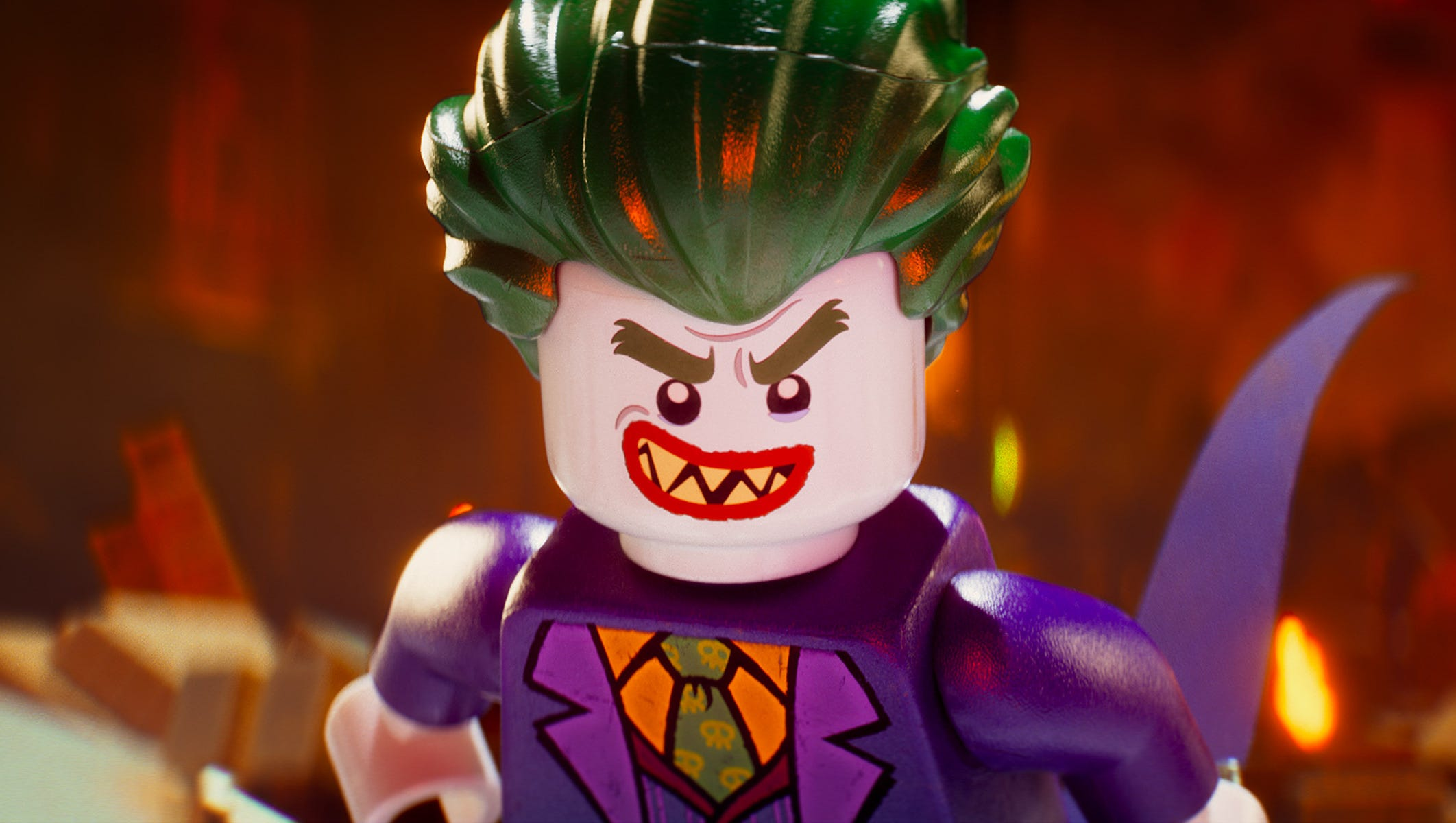 Sneak Peek Lego Batman Movie Reveals Joker Robin