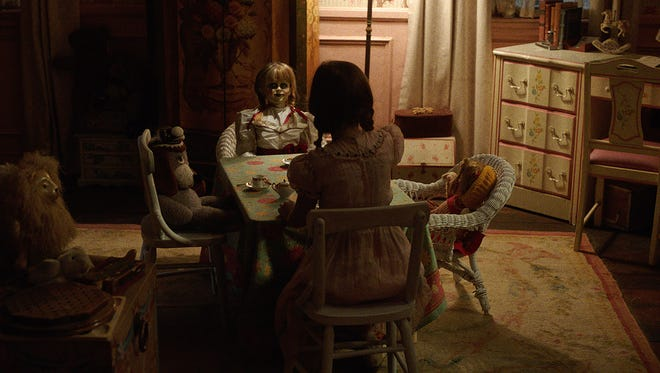 """The Annabelle doll invites you  to tea in """"Annabelle: Creation."""""""