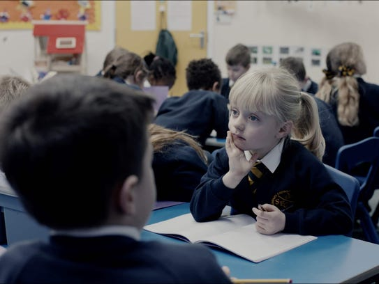"""From England, the drama """"The Silent Child"""" is about"""