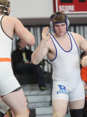 Benton's Blade Dubala placed first at the district tournament Saturday, Feb. 11, in Fairfield, and advances to the state tournament.