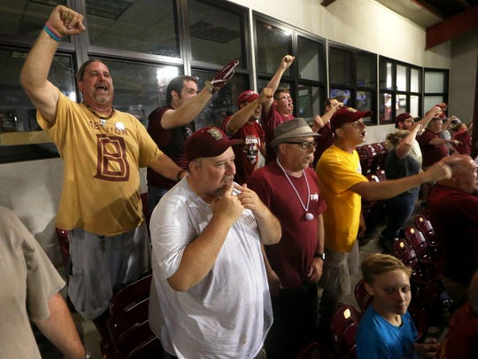 The Animals of Section B are some of Florida State baseball's most devoted -- and loudest -- supporters.