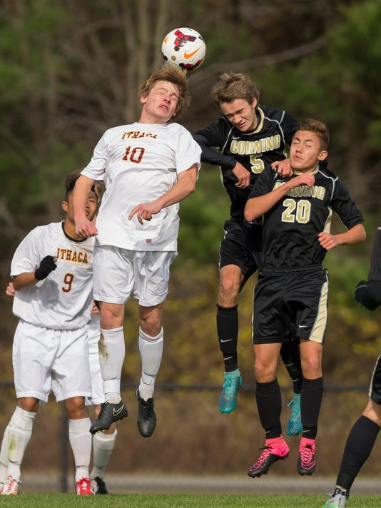 Ithaca Corning Boys Soccer 01