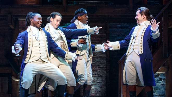 """1/30-2/25: 'Hamilton'   The countdown has begun: """"Hamilton,"""" Broadway's hip-hop smash about the Founding Fathers, will be coming to Tempe's ASU Gammage on Jan. 30, 2018, for a four-week run.   Details: Tuesday through Sunday, January 30-February 25. ASU Gammage, Mill Avenue and Apache Boulevard, Tempe. Single show tickets not yet available. 480-965-3434, asugammage.com."""