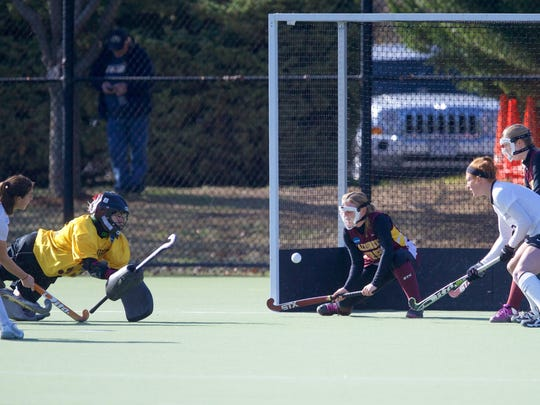 The 2014-15 NCAA Division 1 Field Hockey Championships, in which the Bowdoin Polar Bears and the Salisbury Sea Gulls face off.