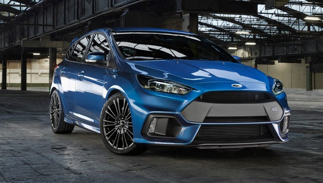 The latest Ford Focus RS  high-performance road car will be coming to U.S. market.