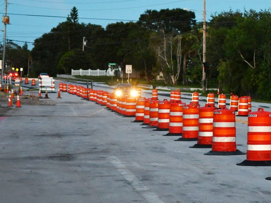 Eau Gallie Blvd. in Melbourne will be undergoing major renovations from west of Mosswood Drive, seen here, to east of Pineapple Avenue.