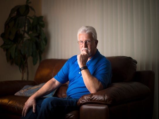 Tue., Jan. 12, 2016: Jim Cole, a retired electrician
