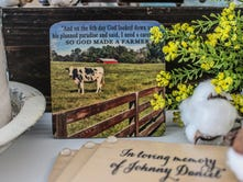 Coaster image captures Daniel farm in Charlotte, honors Johnny