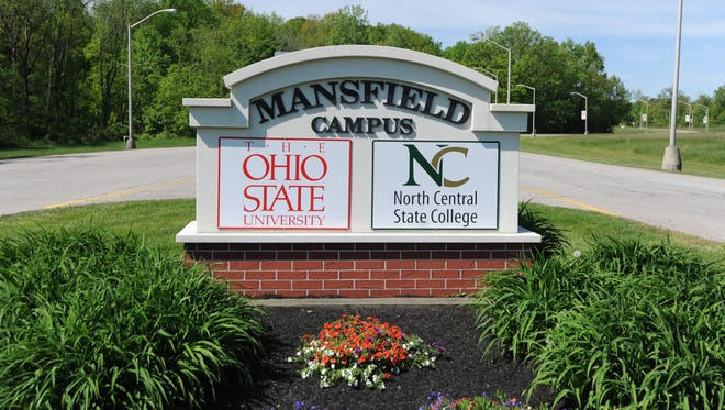 The Ohio State University Mansfield, North Central State College stock photo.