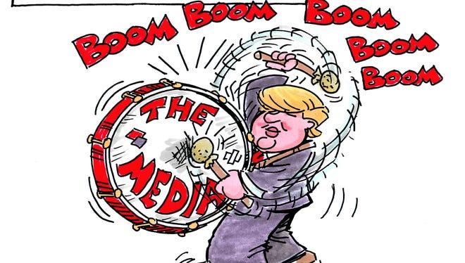 Charlie Daniel cartoon for Saturday, Oct. 29, 2016