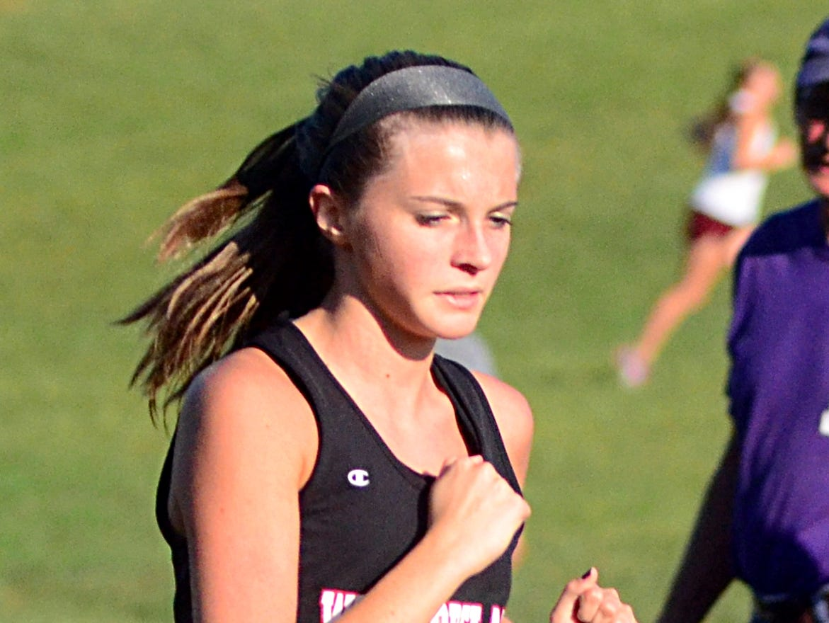 Westmoreland High sophomore Darby Bowser finished 11th in Tuesday's Sumner County Championship cross country meet.