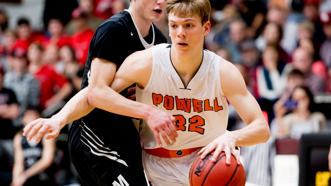 Boys basketball highlights: Powell vs Maryville