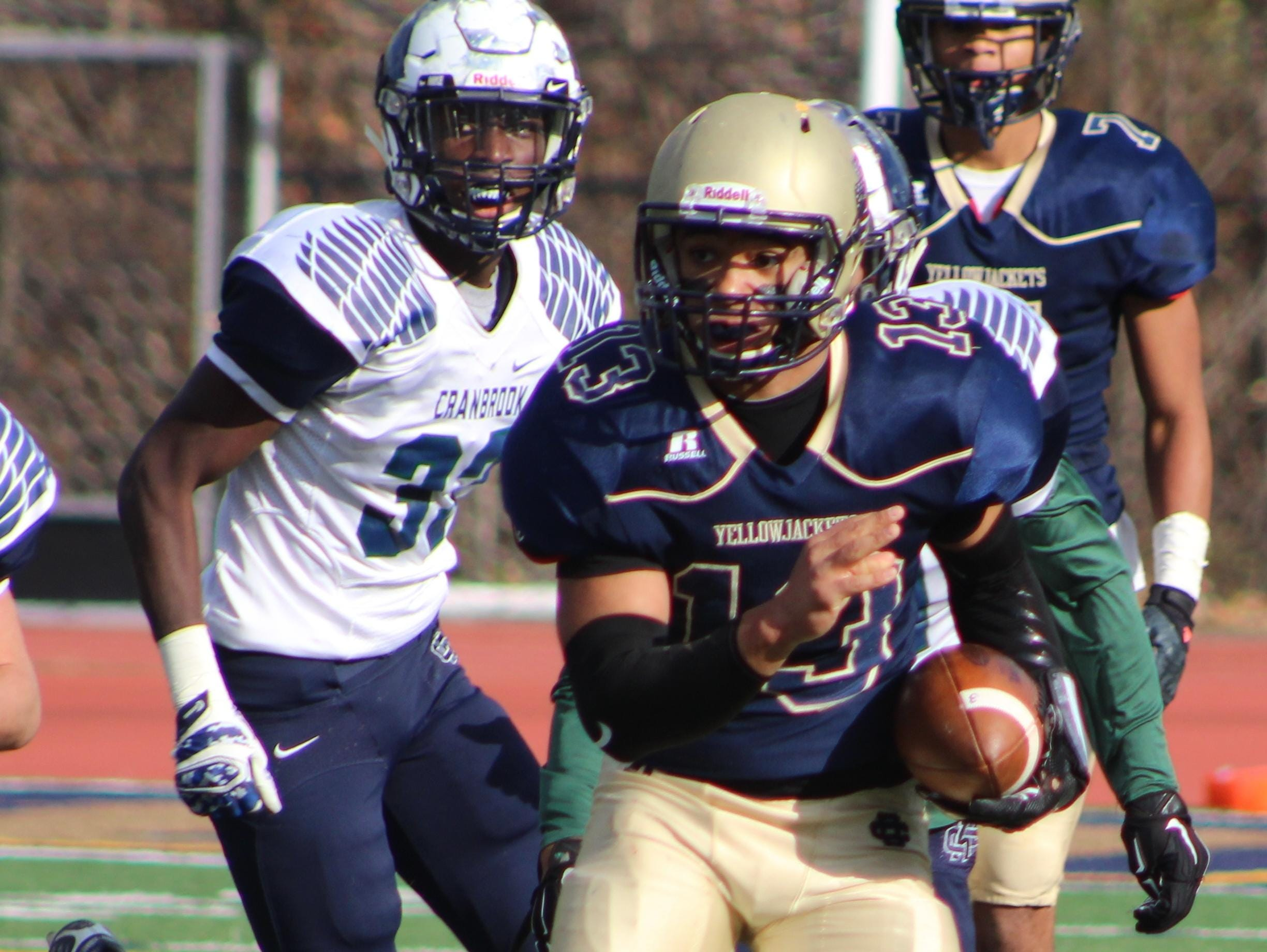 Junior Steve Mann led Country Day to an excellent 11-2 record in his first season as a starting quarterback.