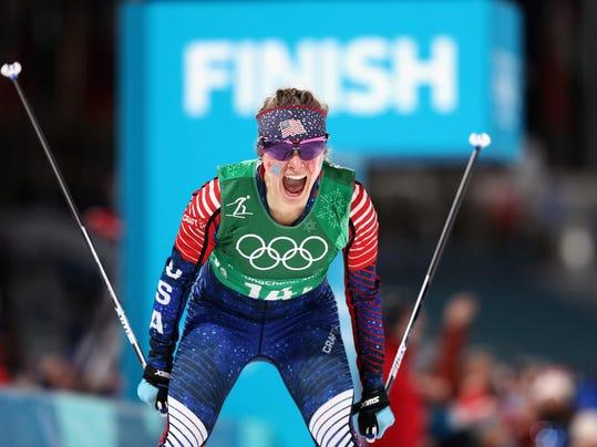 *** BESTPIX *** Cross-Country Skiing - Winter Olympics Day 12