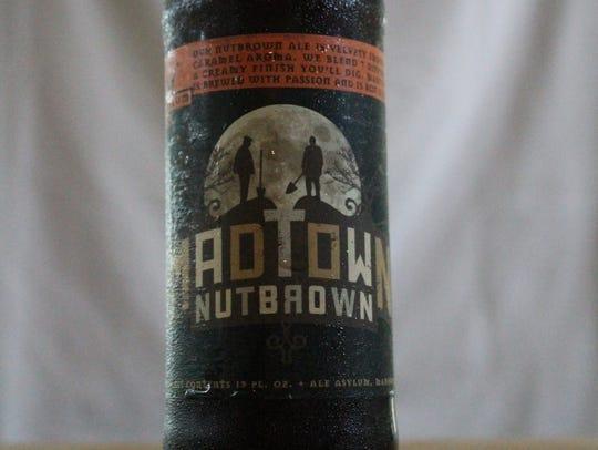 Madtown Nutbrown, brown ale, Ale Asylum