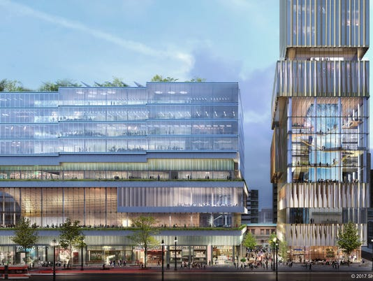 The Hudson's site projectd
