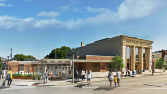 The planned redevelopment of the former BMO Harris