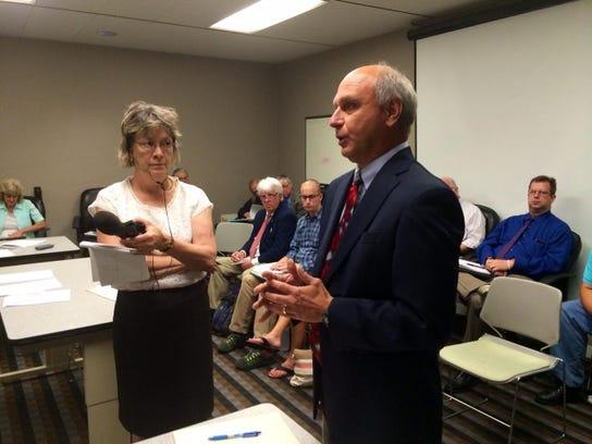 Jeff Peterzalek, an attorney for the state of Iowa,