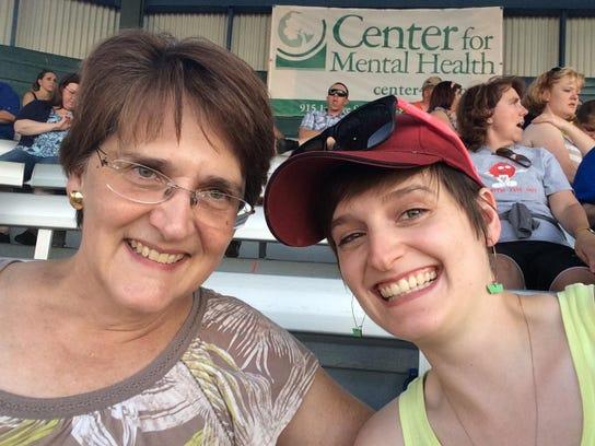 Tammy Bull, left and her daughter, Sylvia Bull often