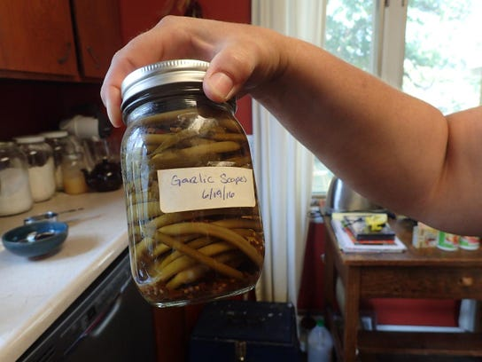 -jenness turns garlic scapes into a delicious pickled snack. grisak.jpg_2017.jpg