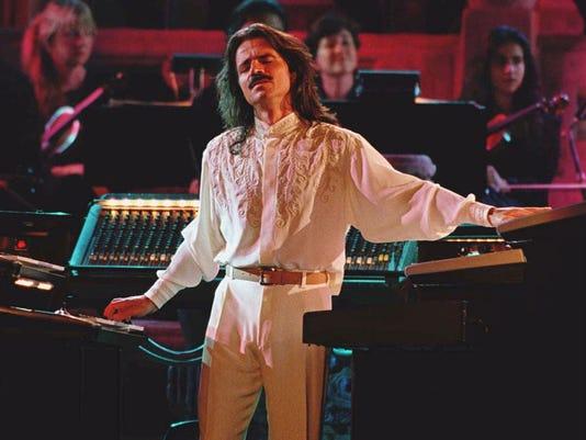 Yanni in concert